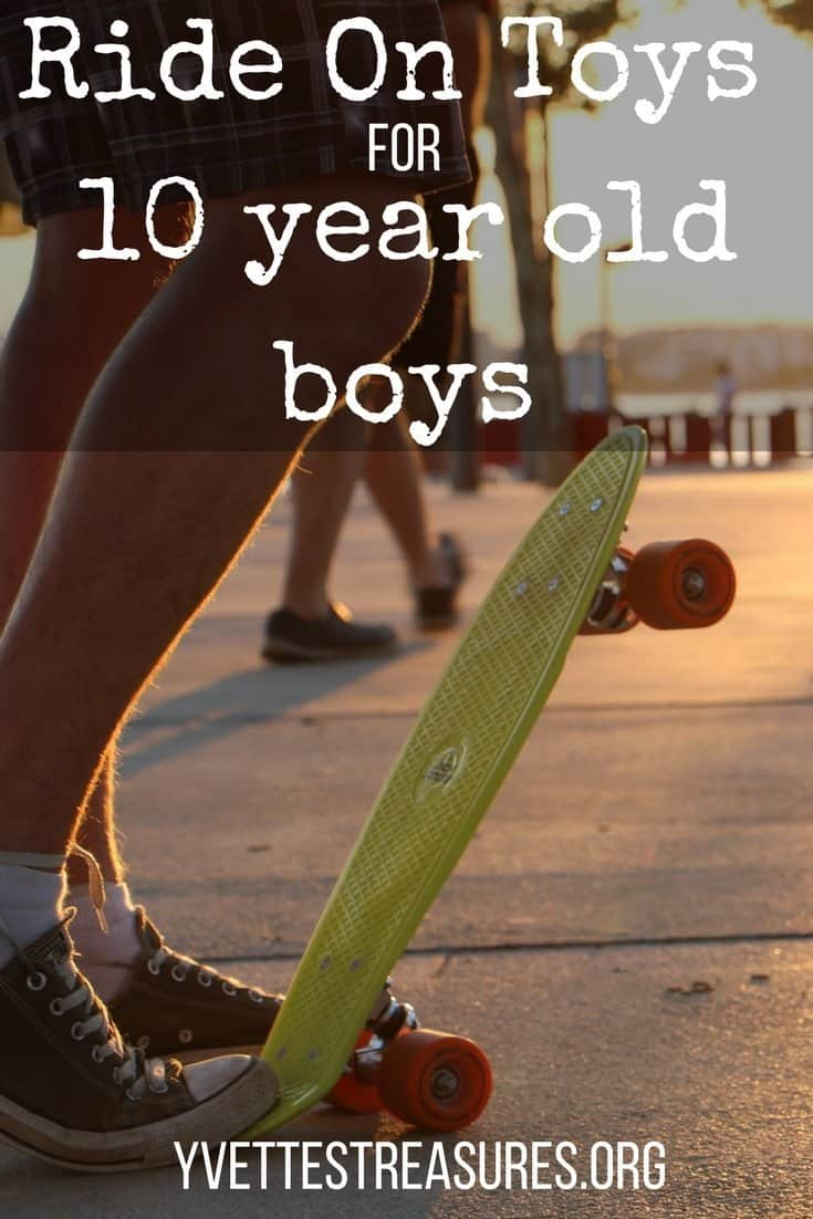 ride on toys for 10 year old boys
